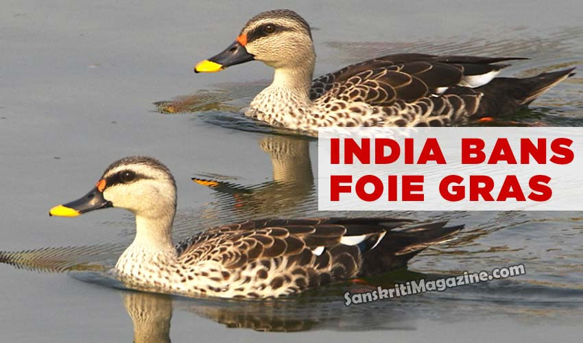 India Bans Foie Gras
