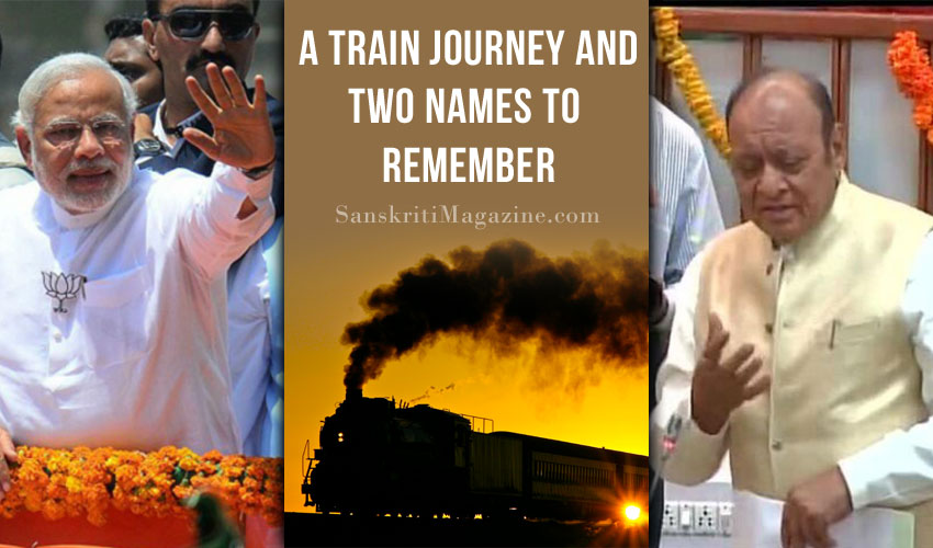 A train journey and two names to remember