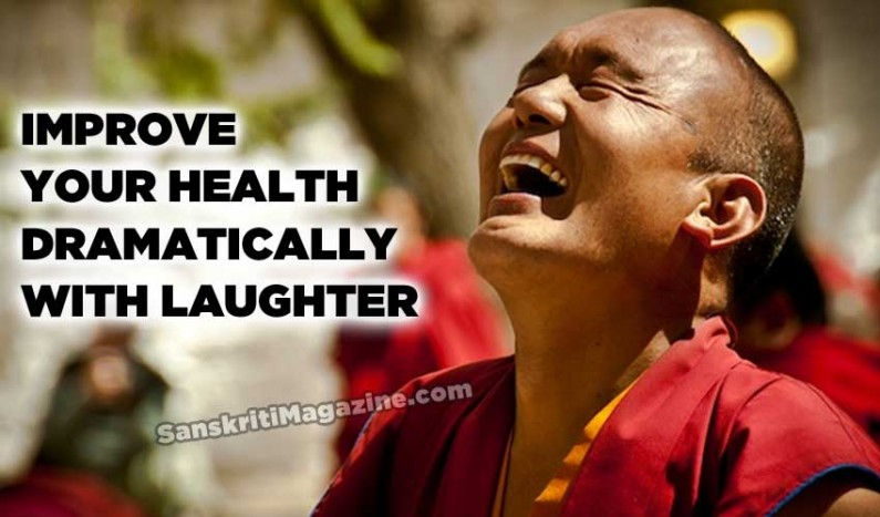 Improve your health dramatically with laughter
