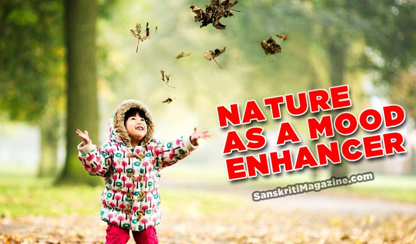 Nature as a mood enhancer