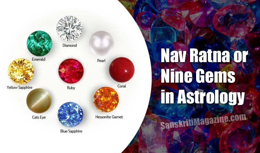 Nav Ratna or Nine Gems in Astrology