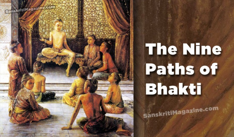 The Nine Paths of Bhakti