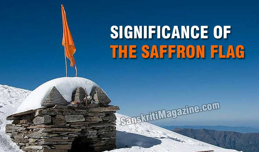 Significance of the Saffron flag