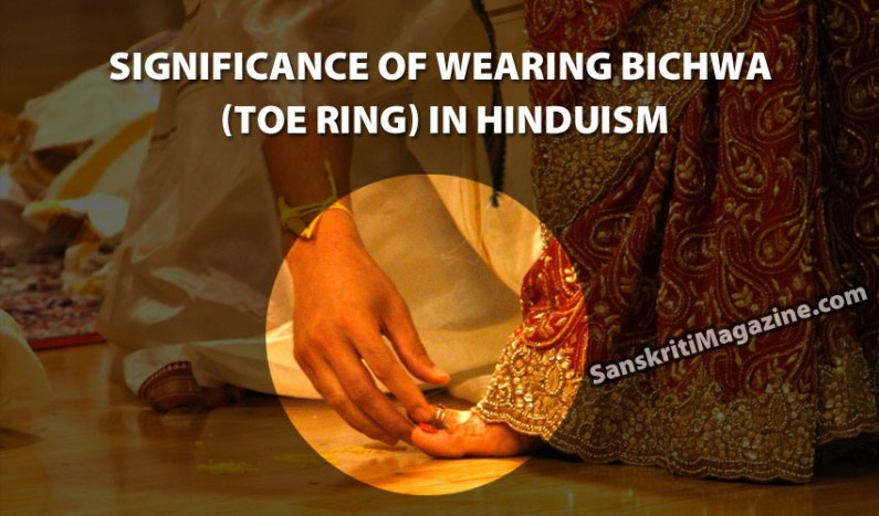 Significance of wearing Bichwa (toe ring) in Hinduism