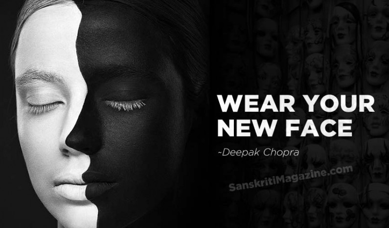 Wear your new face