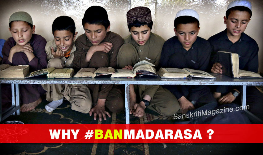 Why the #banmadarasa campaign is on?