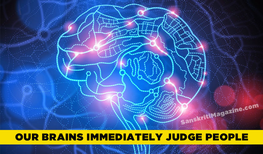 Our brains immediately judge people