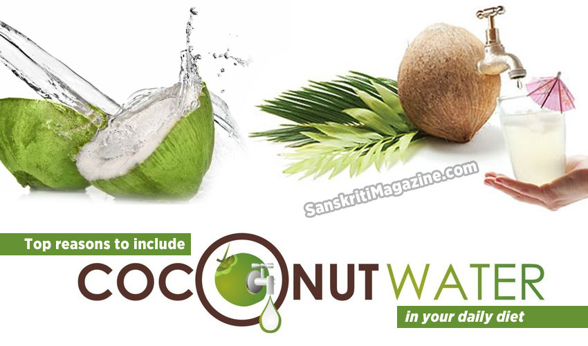 Top reasons to include coconut water in your diet