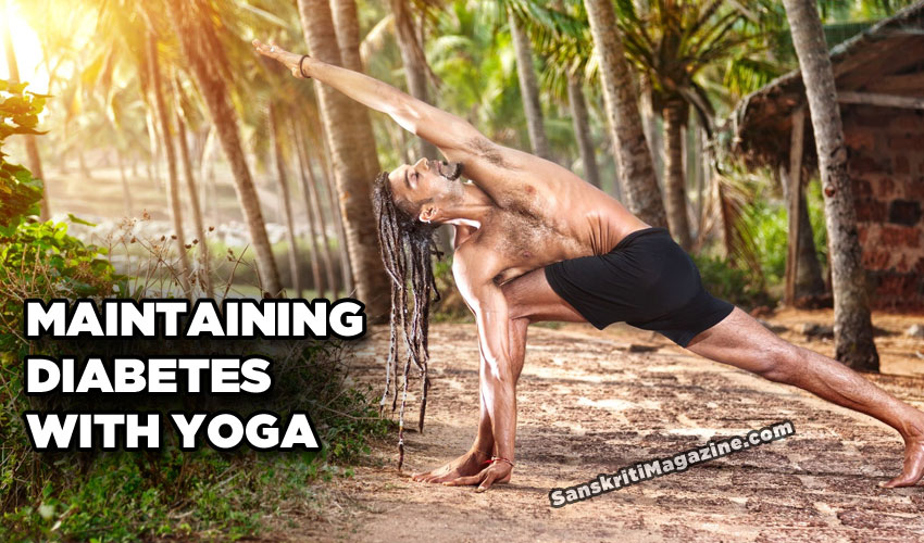 Maintaining Diabetes with Yoga