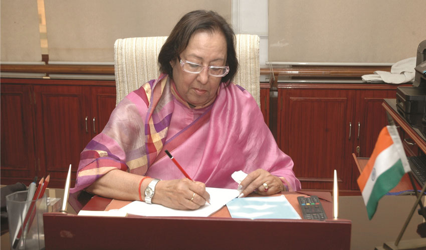 Hindu is India's National identity: Najma Heptullah