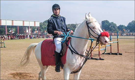 Equestrian training builds character and agility
