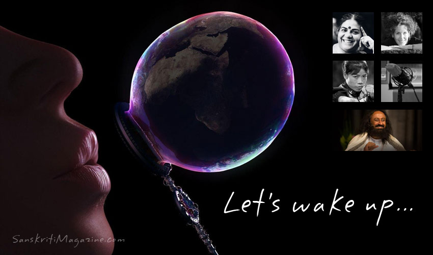 Let's wake up!