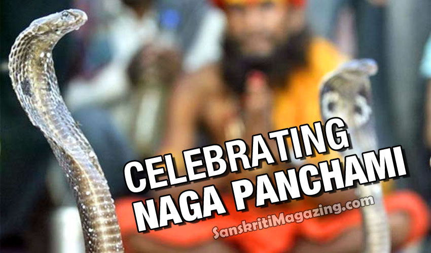 celebrating Naga Panchami