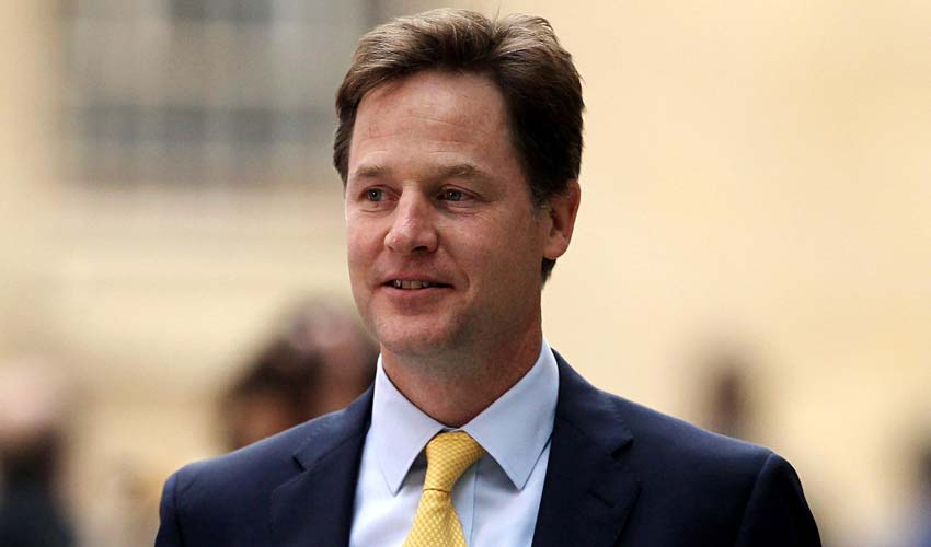 British Deputy PM Nick Clegg promises to help build India's acche din