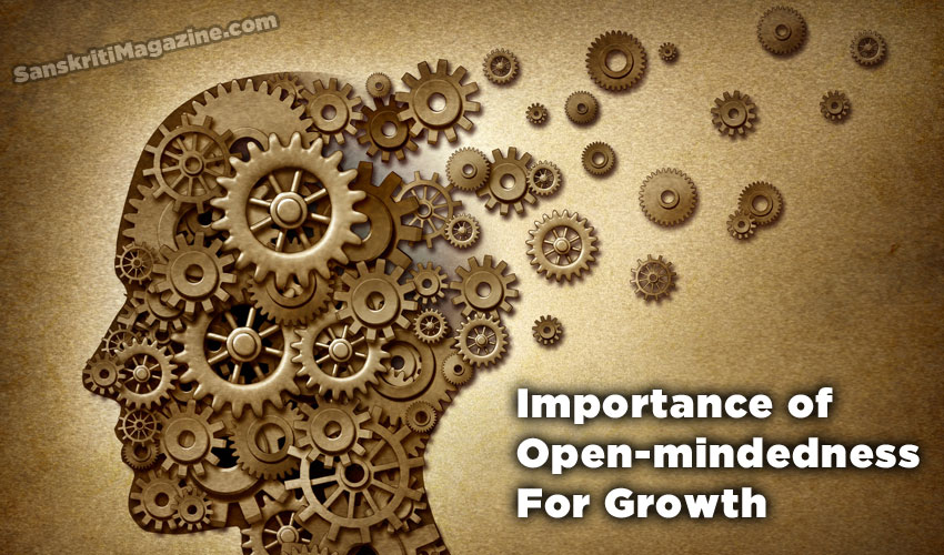 Importance of open-mindedness for growth