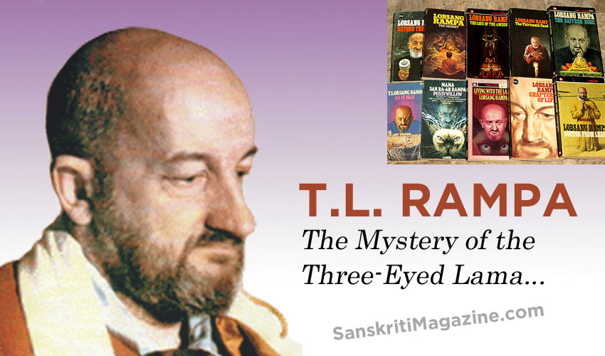 Tuesday Lobsang Rampa: The Mystery of the Three-Eyed Lama