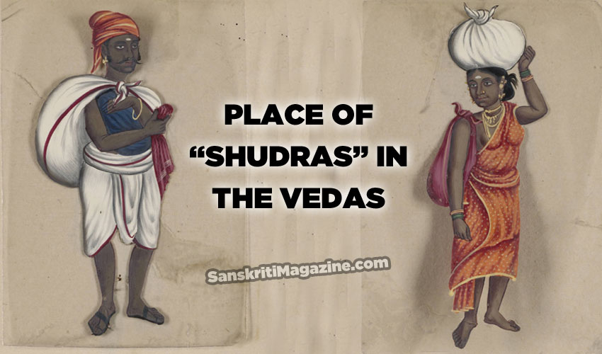 Place of Shudras in the Vedas