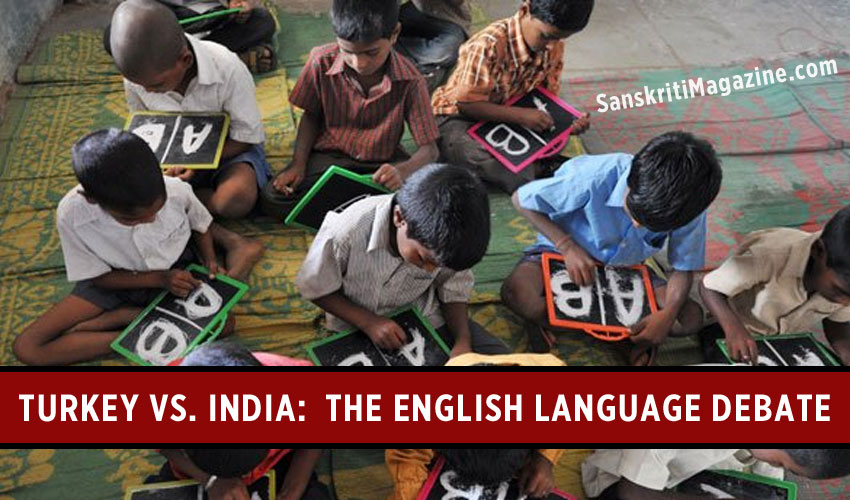 Turkey vs. India: The English language debate