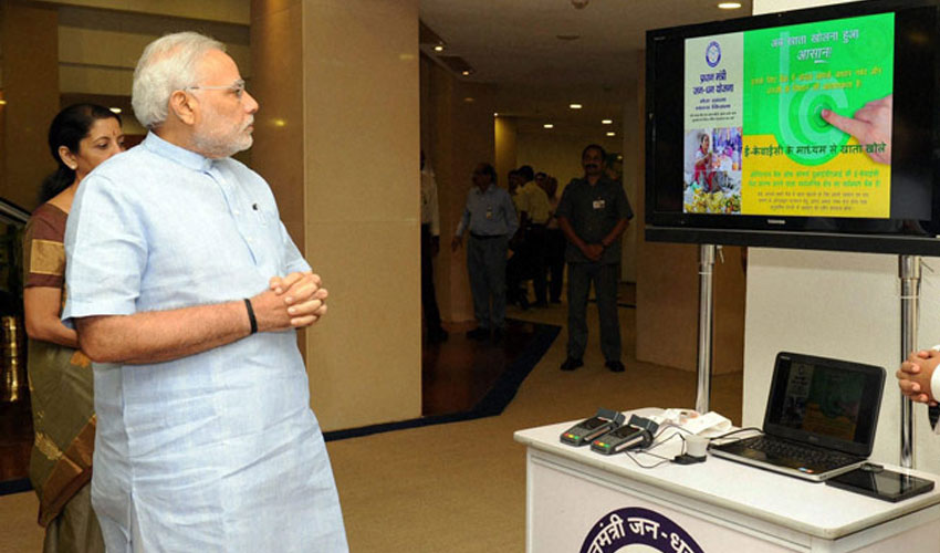 Jan Dhan Yojana opens with record 1.5 crore bank accounts on Day 1