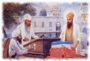 dictation of Guru Granth Sahib