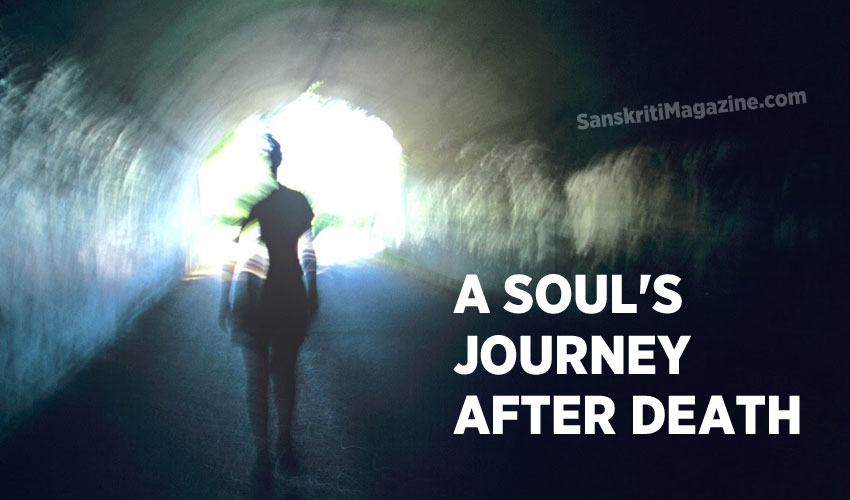 A soul's journey after death