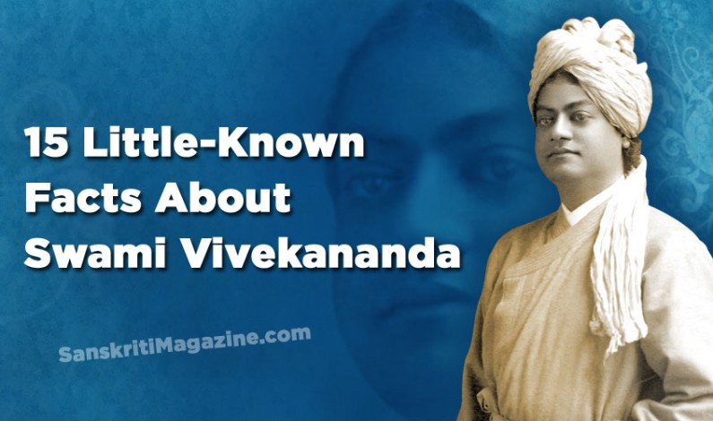 15 little-known facts about Swami Vivekananda