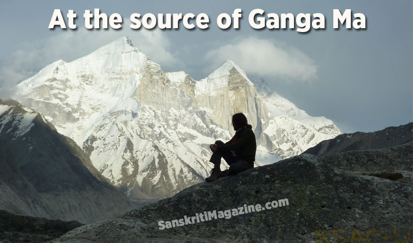 At the source of Ganga Ma