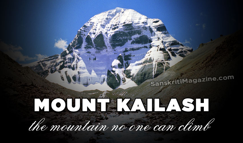Mount Kailash: the mountain no one can climb