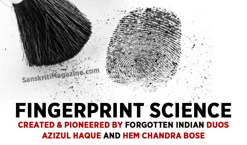 The forgotten Indian pioneers of fingerprint science