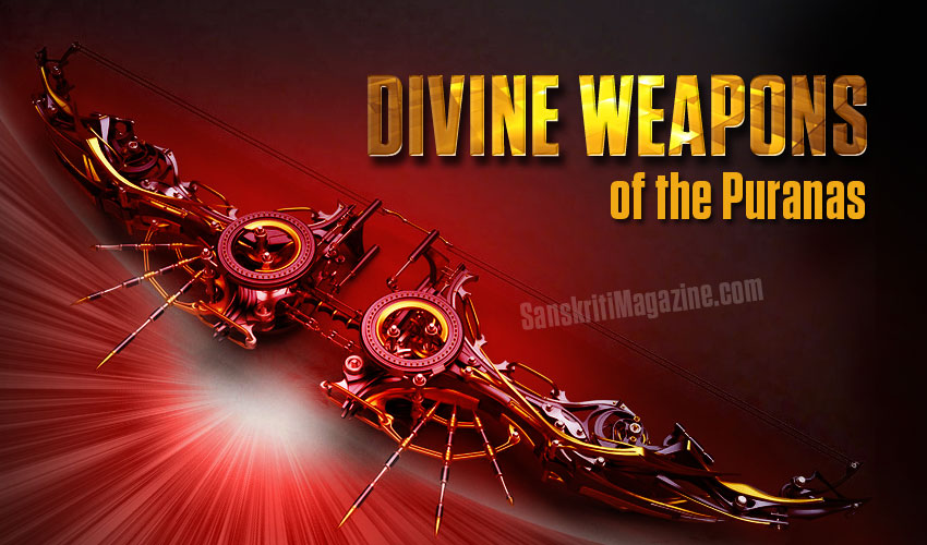 The Divine Weapons of the Puranas