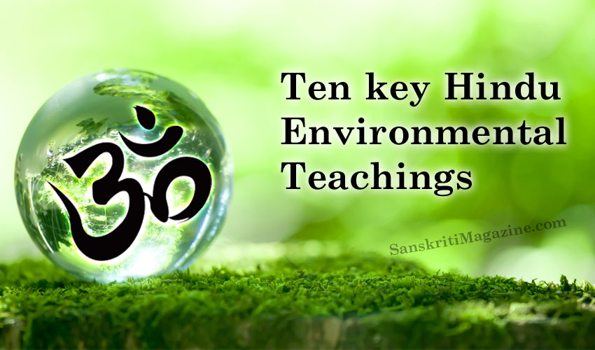 Ten key Hindu environmental teachings