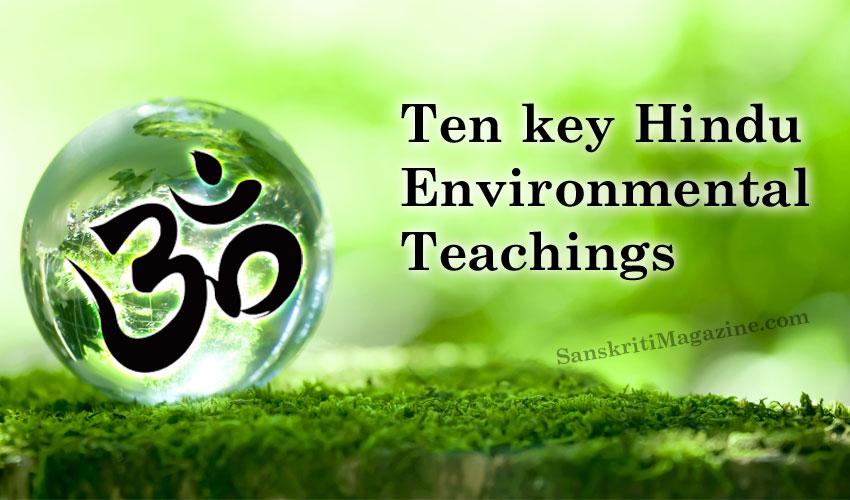 Ten key Hindu environmental teachings