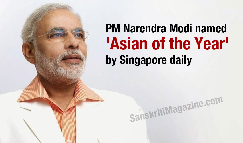 PM Narendra Modi named 'Asian of the Year' by Singapore daily