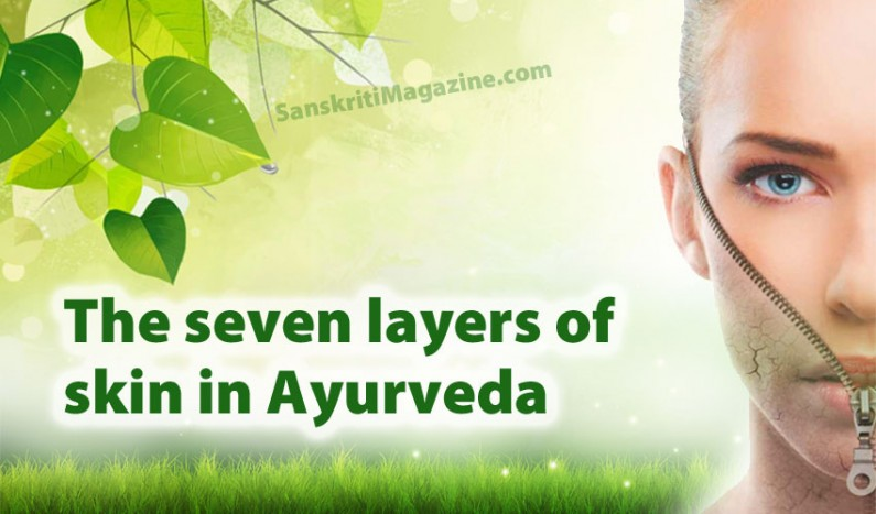 The seven layers of skin in Ayurveda
