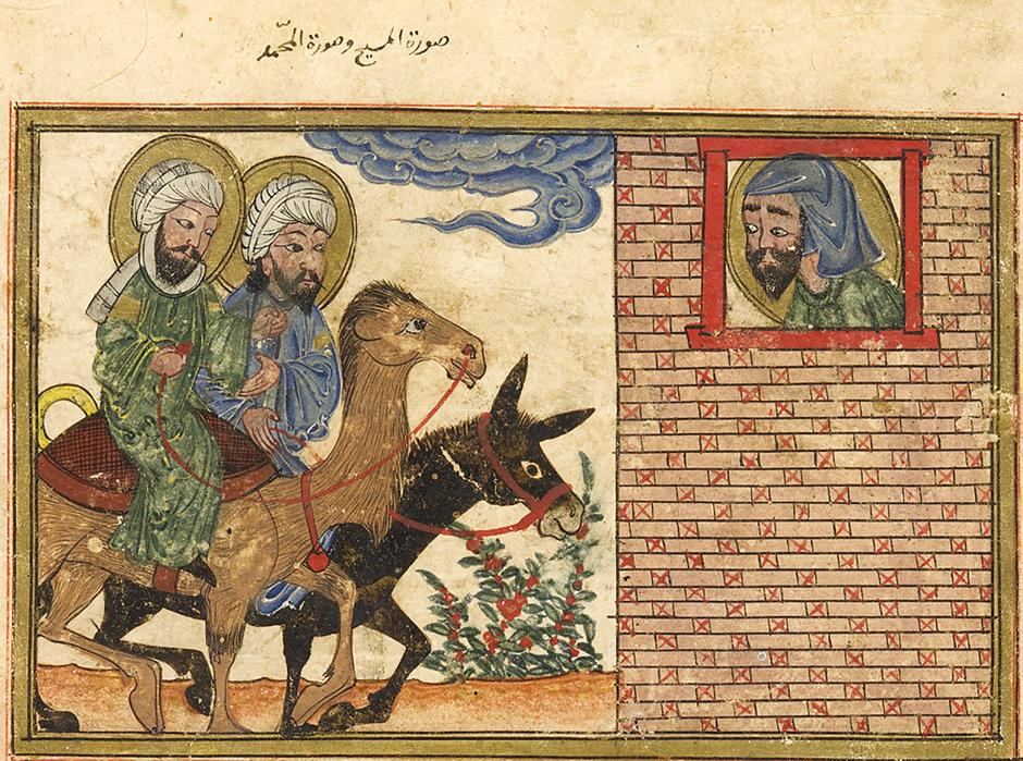 Jesus and mohammed