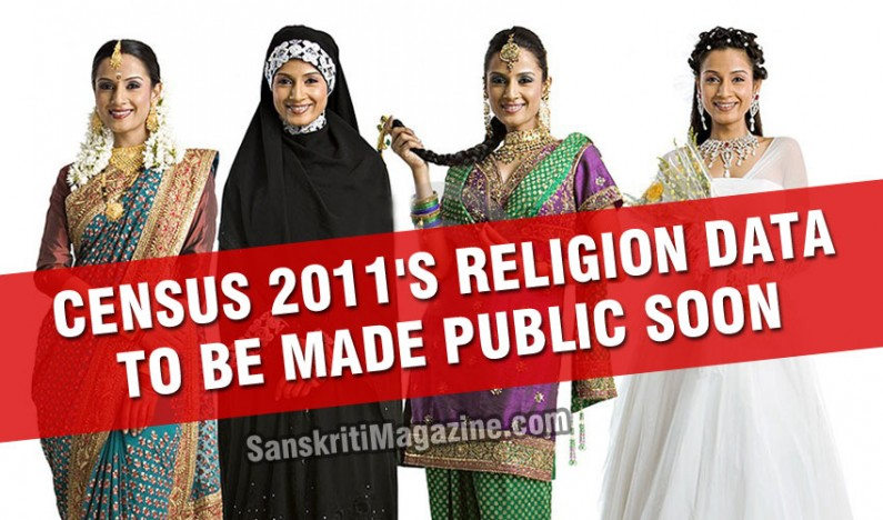 Census 2011's religion data to be made public next week