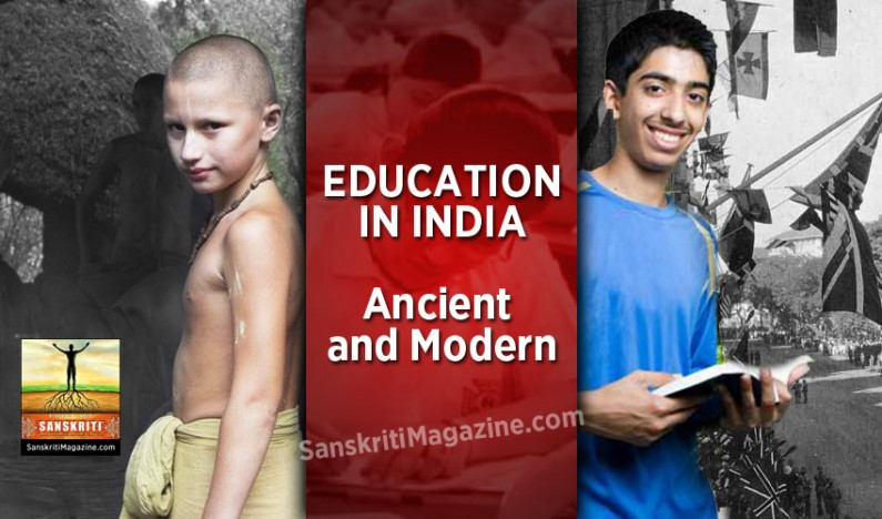 Education in India: Ancient and Modern