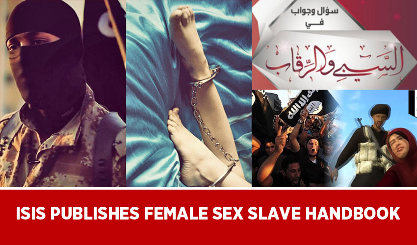 ISIS publishes female sex slave handbook