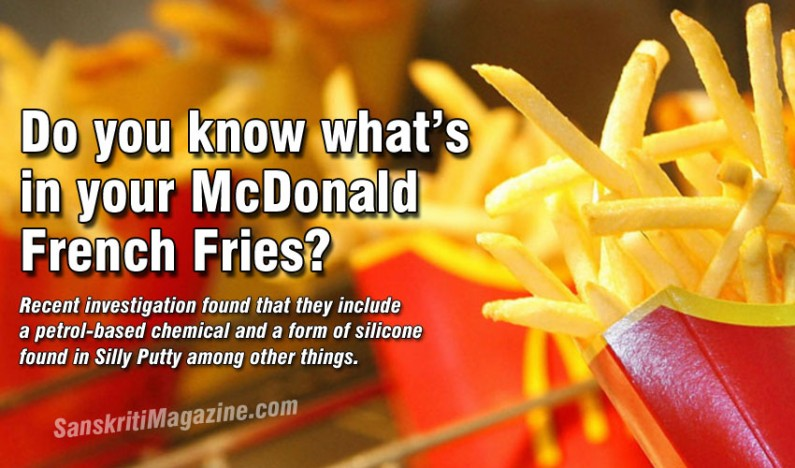 Do you know what`s in your McDonald French Fries?
