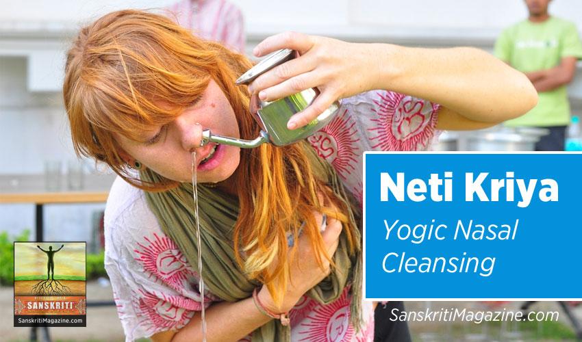 Neti Kriya - Yogic Nasal Cleansing