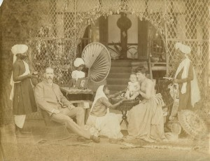 A family photo from northeastern India, c.1880's