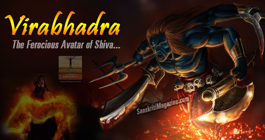 virabhadra - avatar of shiva