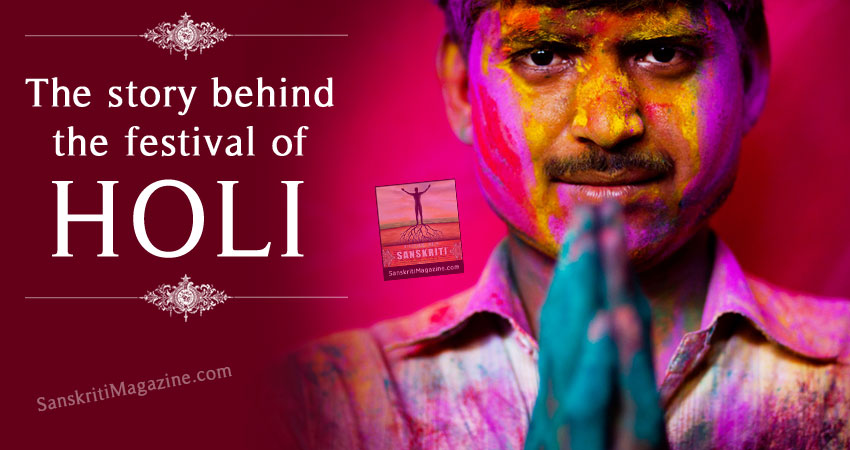The story behind the festival of Holi