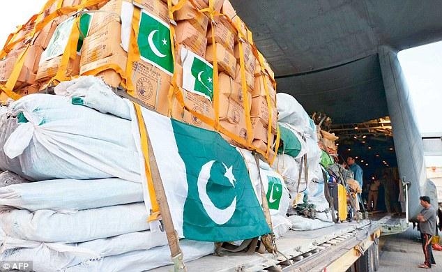 nepal aid from pakistan