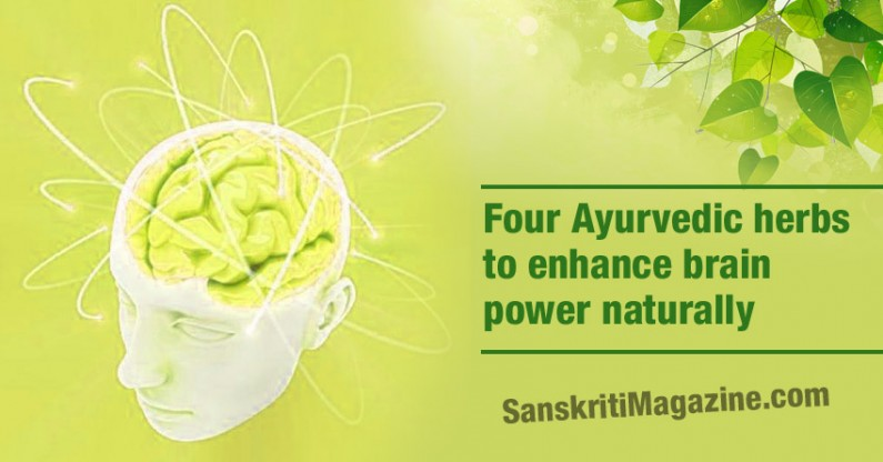 Four Ayurvedic herbs to enhance brain power naturally