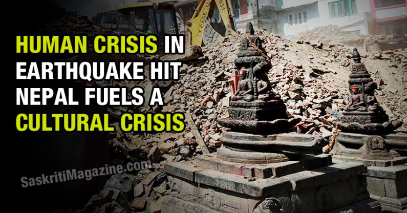 Human Crisis In Nepal Fuels A Cultural One