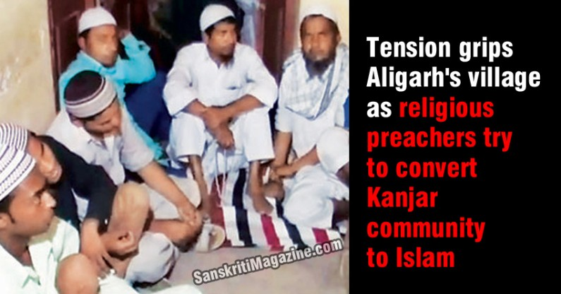 Tension grips Aligarh's village as religious preachers try to convert Kanjar community to Islam