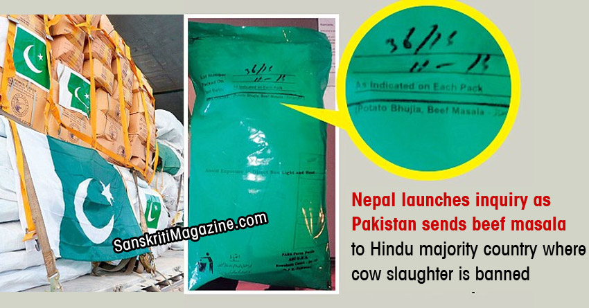 Nepal launches inquiry as Pakistan sends beef masala to Hindu majority country where cow slaughter is banned