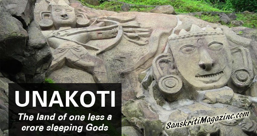 Unakoti: the land of one less a crore sleeping Gods