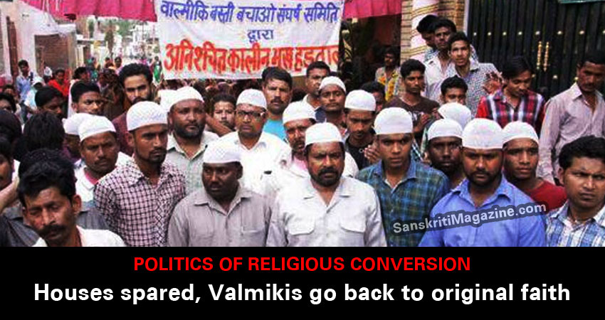 Valmikis go back to original faith